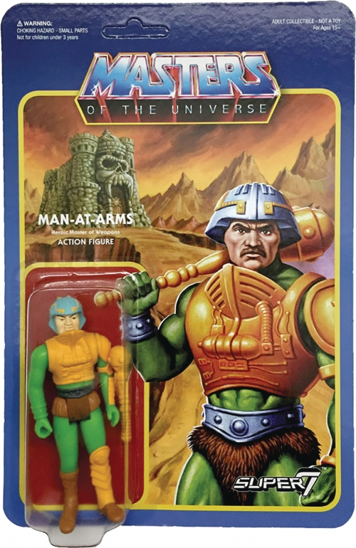 Super 7 Reaction Figures - Masters of the Universe - Man-At-Arms