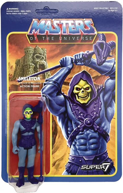 Super 7 Reaction Figures - Masters of the Universe - Skeletor