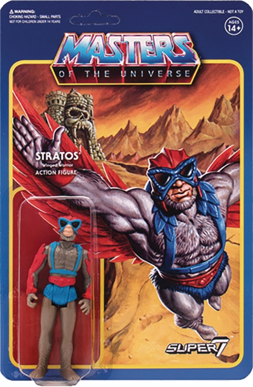 Super 7 Reaction Figures - Masters of the Universe - Stratos