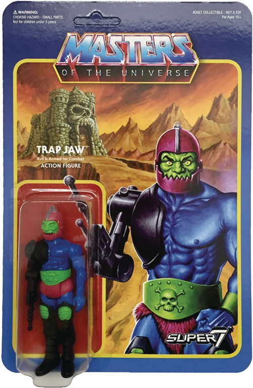 Super 7 Reaction Figures - Masters of the Universe - Trap Jaw