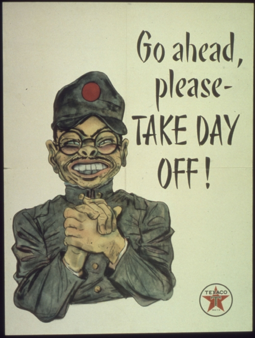 World War II - Texaco Propaganda Poster