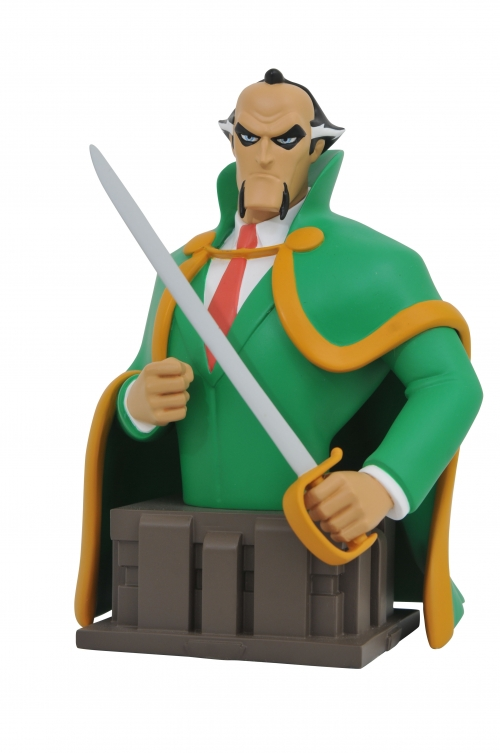 Batman Animated Ra's Al Ghul Resin Bust