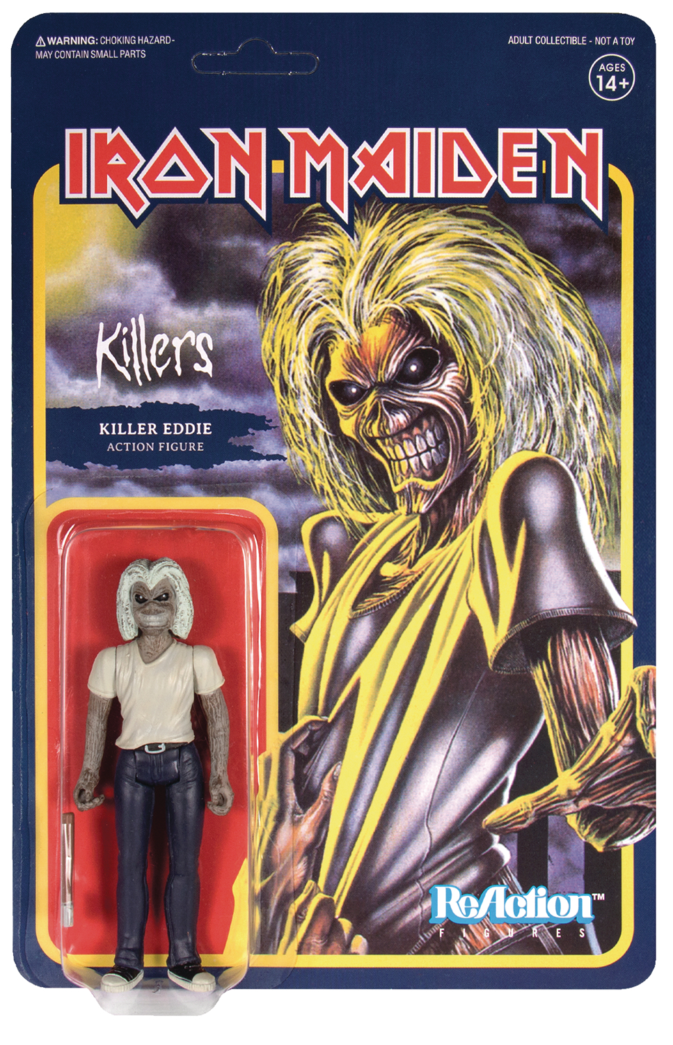 Reaction Figure - Iron Maiden - Killer Eddie