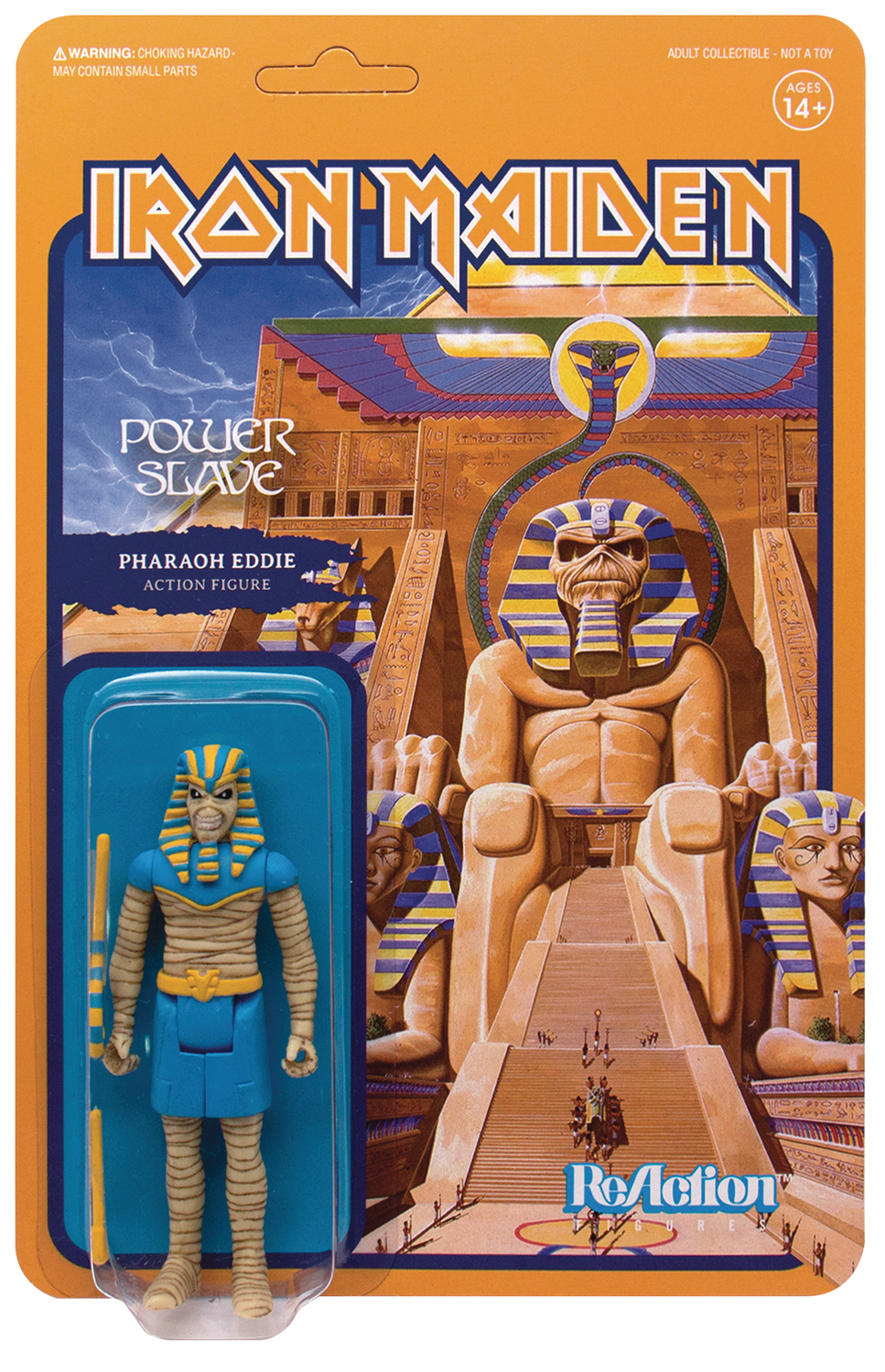 Reaction Figure - Iron Maiden - Pharaoh Eddie