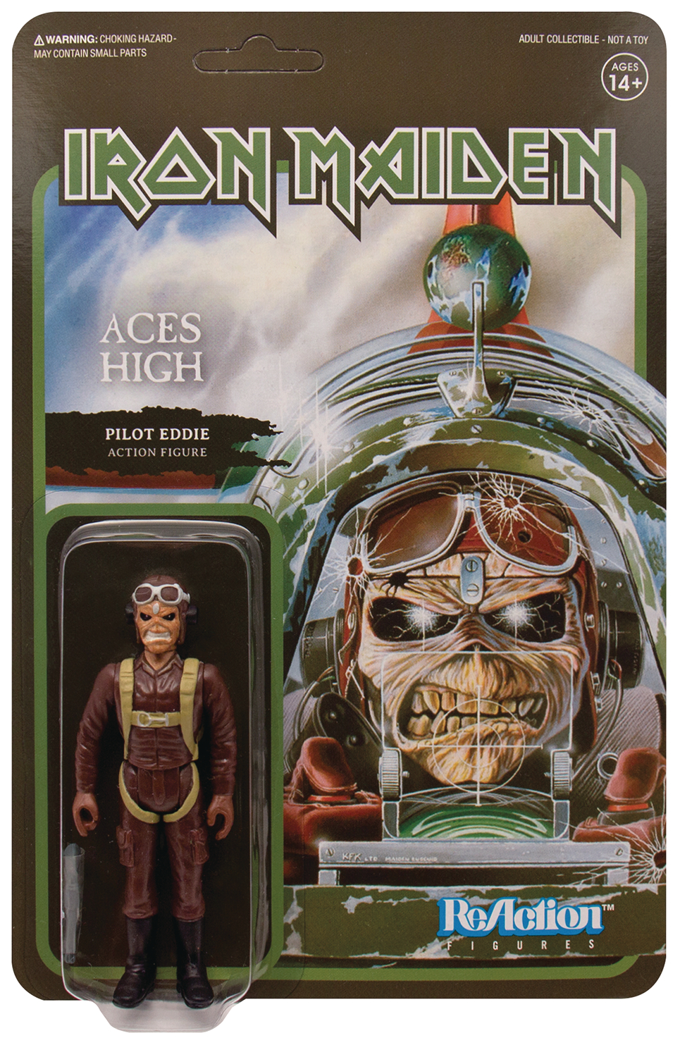 Reaction Figure - Iron Maiden - Pilot Eddie