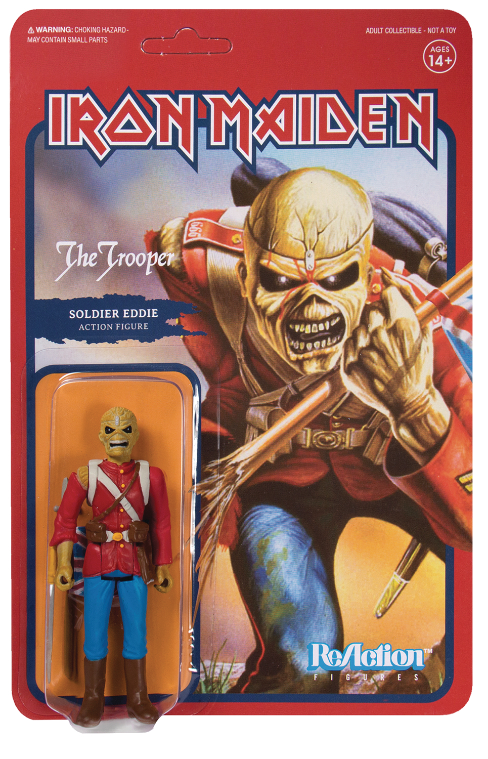 Reaction Figure - Iron Maiden - Soldier Eddie