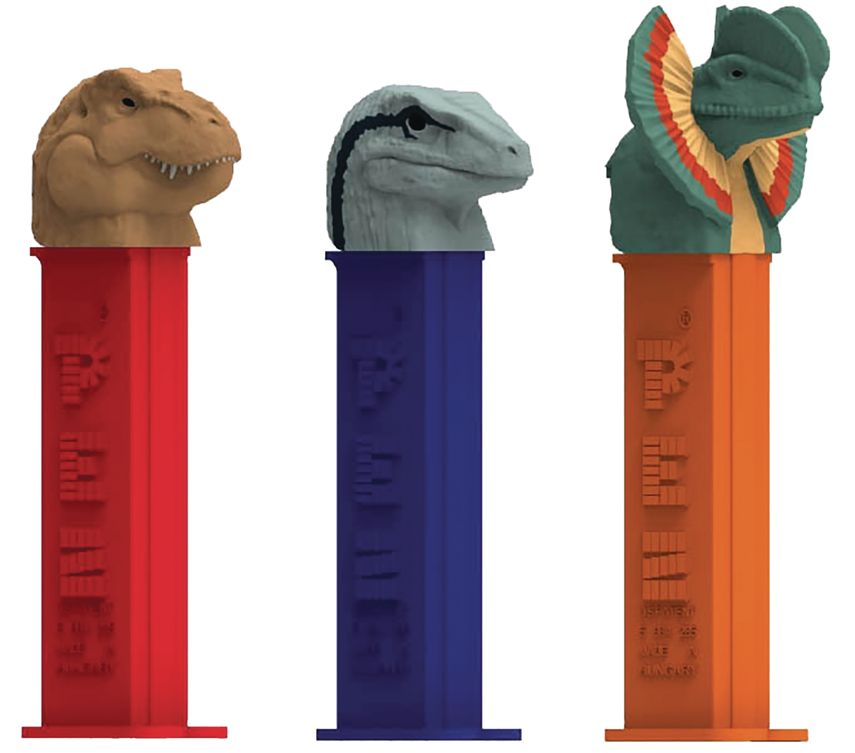 Jurassic World Pez Dispensers