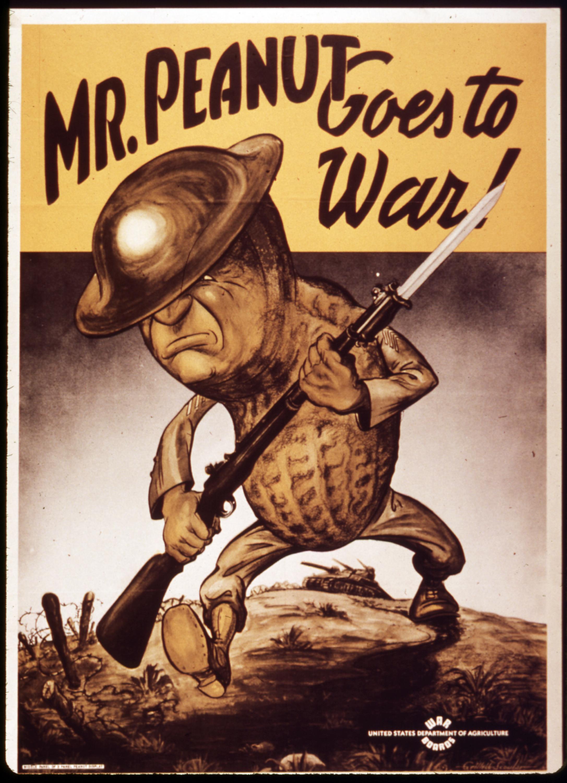 Mr. Peanut Goes to War