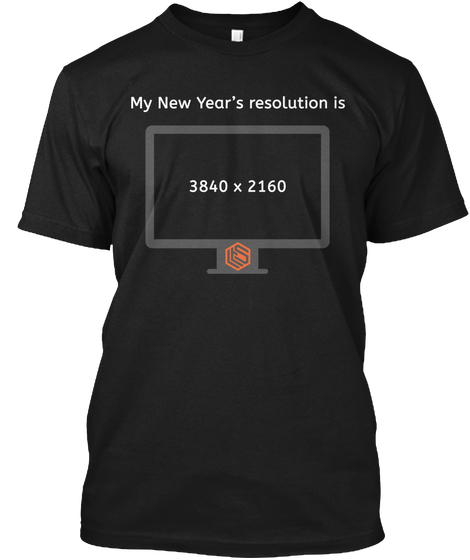 My New Years Resolution T-Shirt