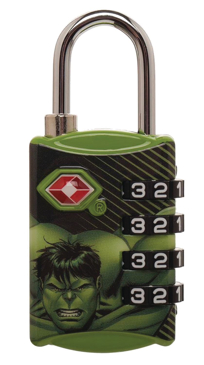 TSA Combination Lock - The Hulk