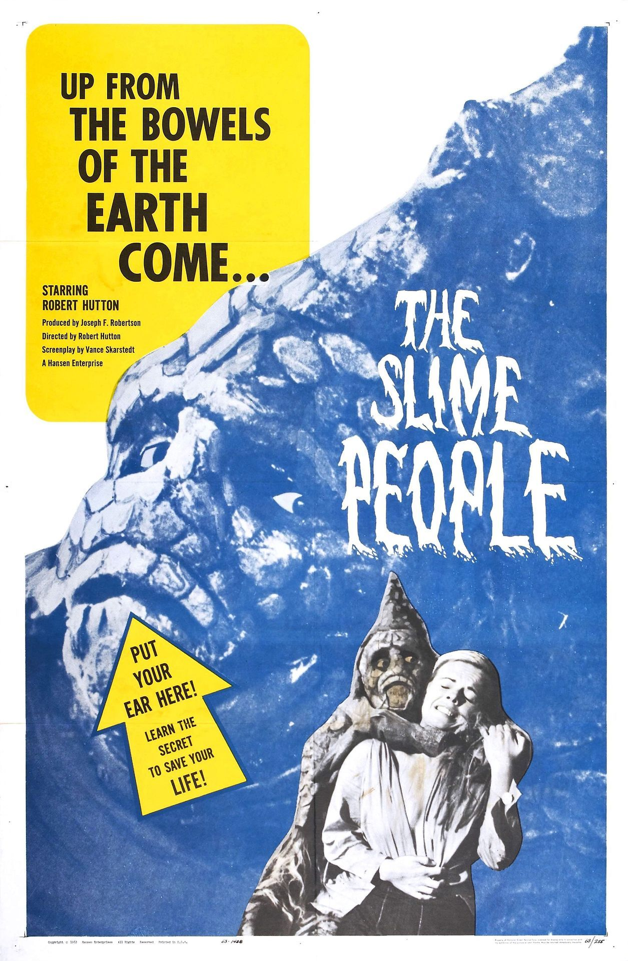The Slime People Movie Poster
