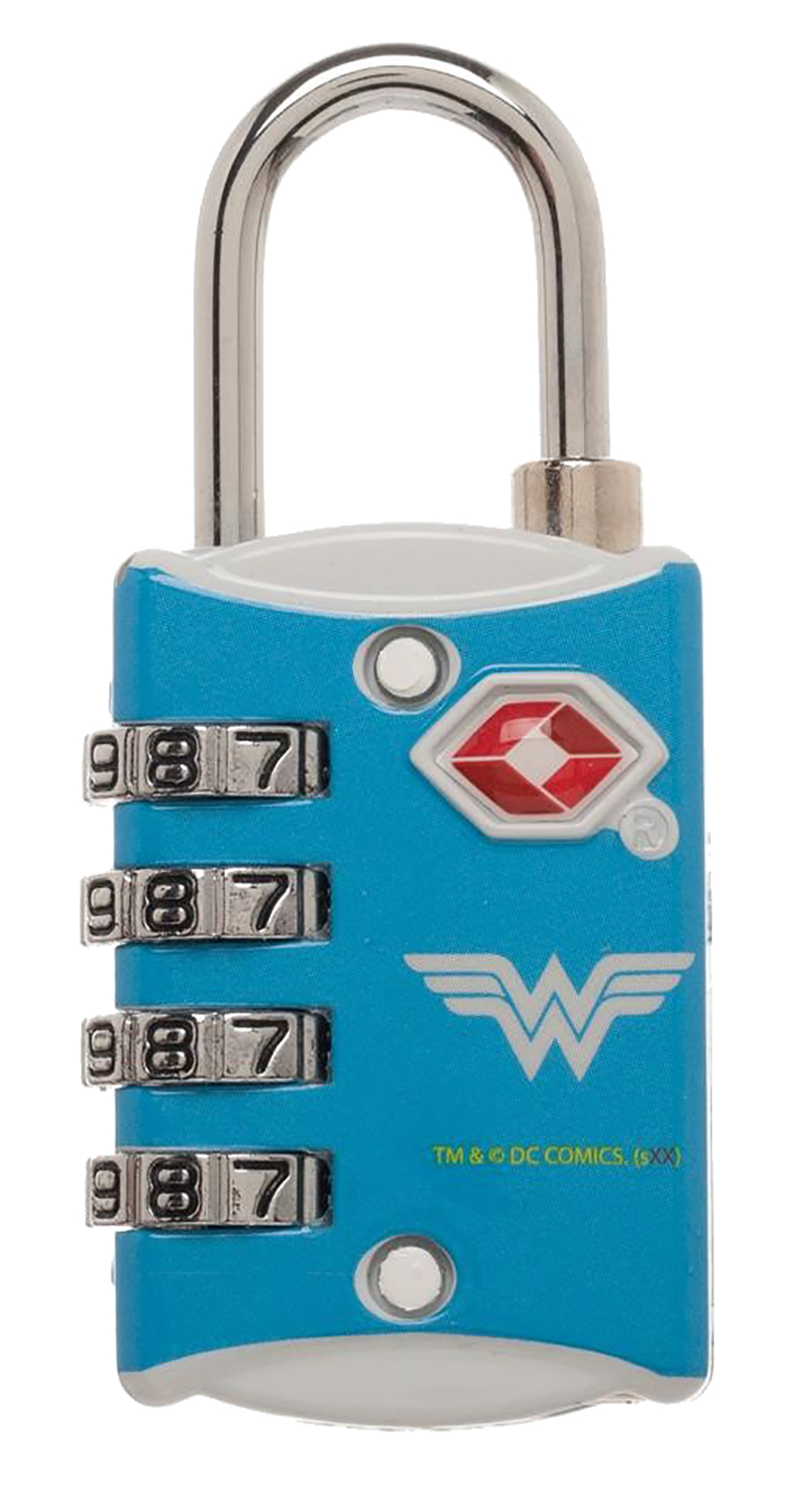 TSA Combination Lock - Wonder Woman