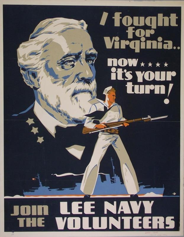 World War II Poster - I Fought for Virginia, Now It's Your Turn