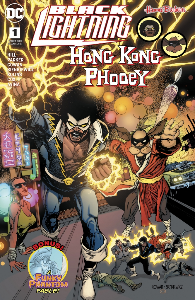 Cover to Black Lightning/Hong Kong Phooey Special