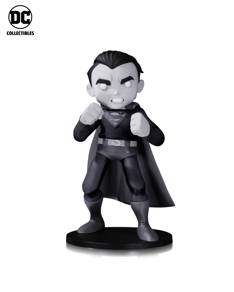 Superman by Chris Uminga Vinyl Figure (Black and White Variant)