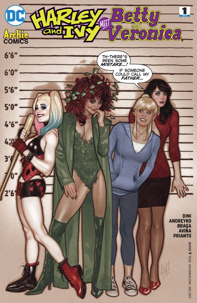 Harley and Ivy Meet Betty and Veronica - Issue 1