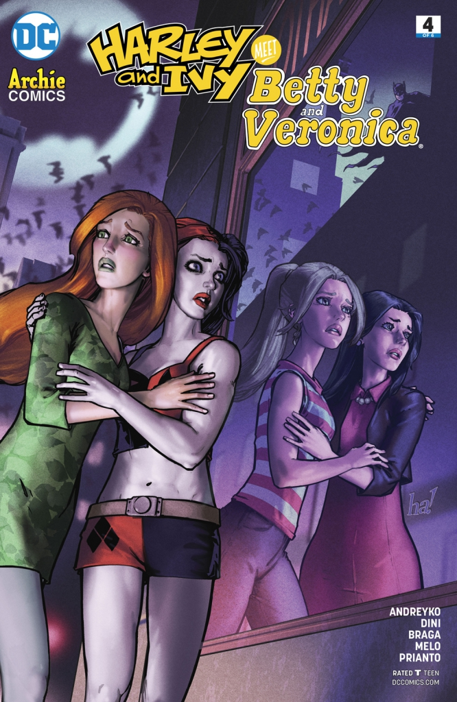 Harley and Ivy Meet Betty and Veronica - Issue 4
