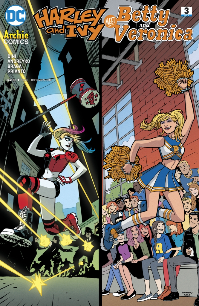 Harley and Ivy Meet Betty and Veronica - Issue 3