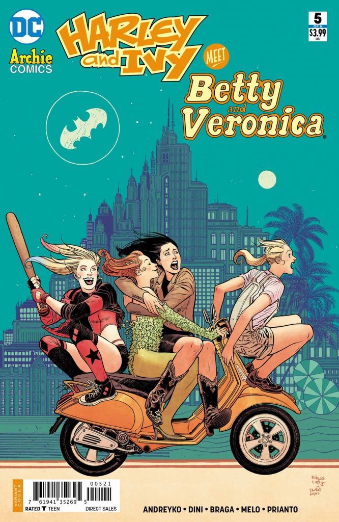 Harley and Ivy Meet Betty and Veronica - Issue 5