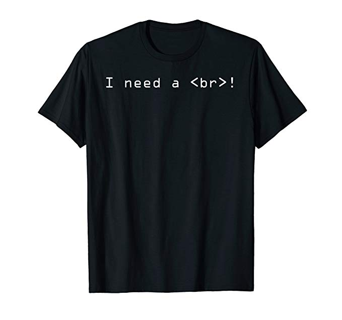I Need a <br></noscript>! T-shirt&#8221; class=&#8221;wp-image-33059&#8243;/><figcaption>I Need a <br>! T-shirt</figcaption></figure> 	</div><!-- .entry-content -->  	<footer class=