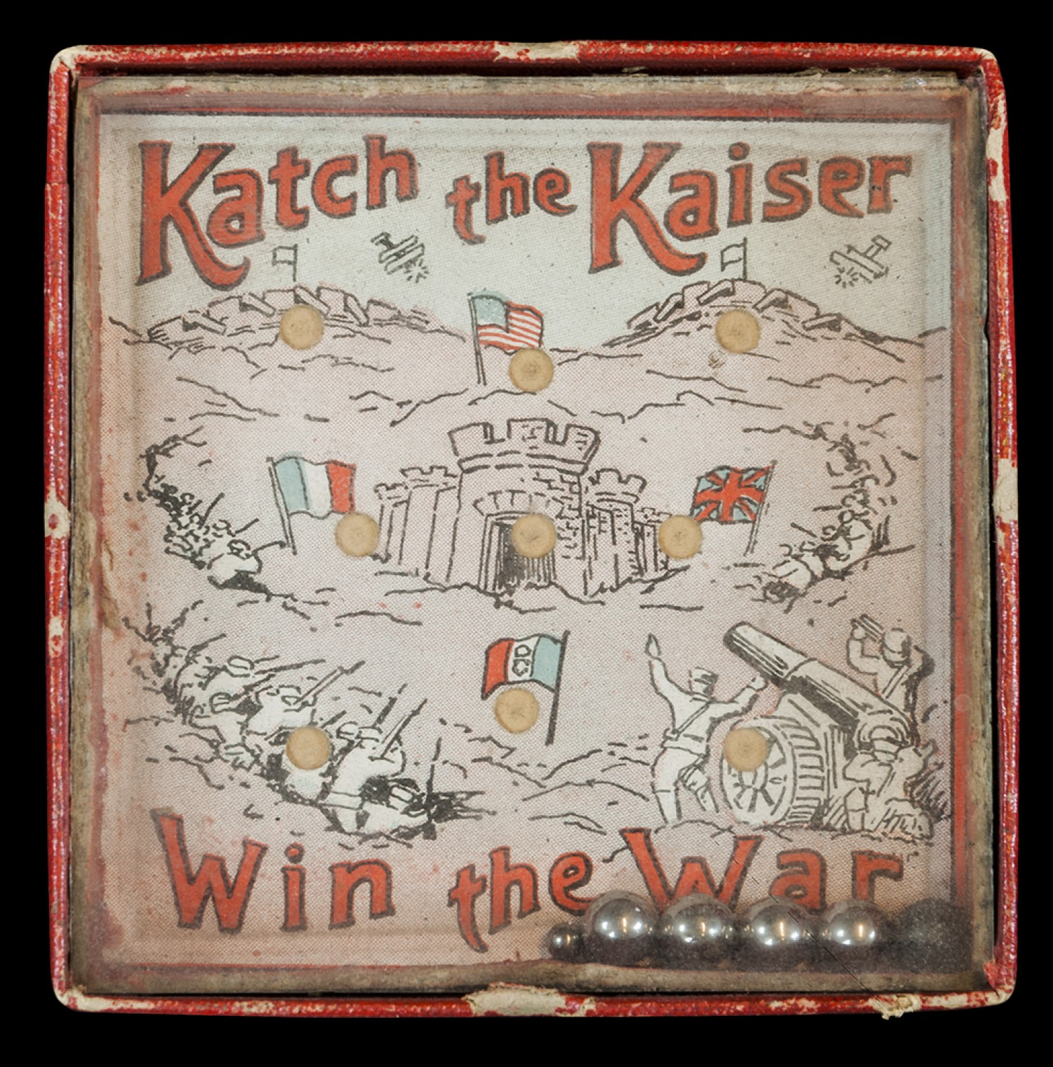 Katch The Kaiser, Win The War Game