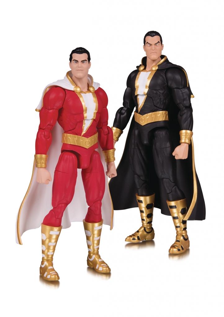 DC Essentials Shazam! and Black Adam Action Figures