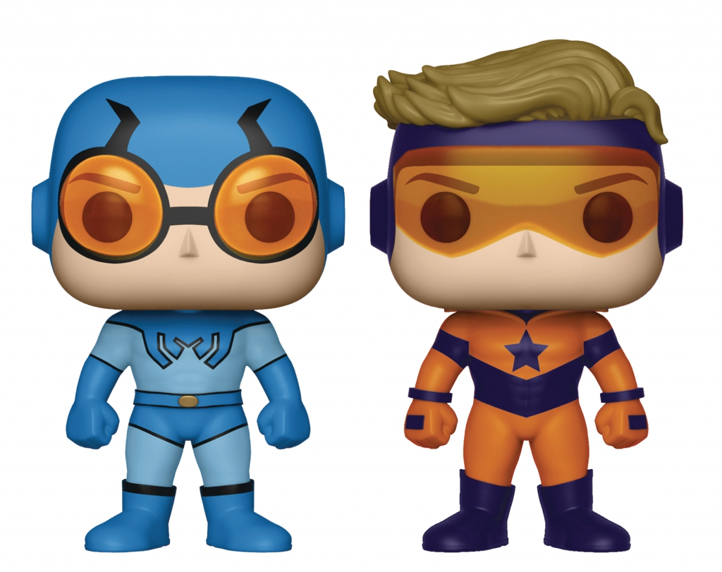 Funko Pop! Blue Beetle & Booster Gold Two-Pack