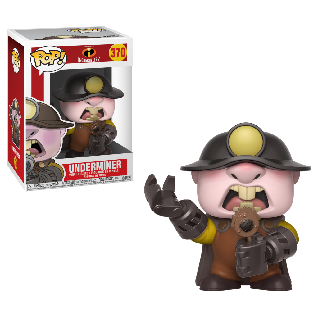 Funko Pop - The Incredibles 2 - Underminer