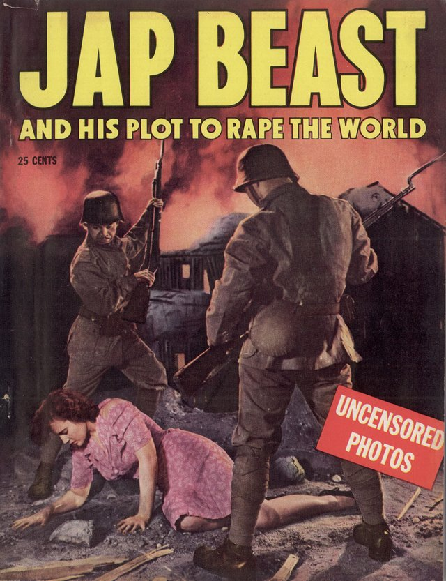 Jap Beast and His Plot to Rape the World
