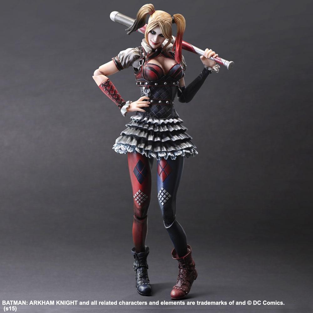Play Arts Kai - Batman: Arkham Knight - Harley Quinn Action Figure