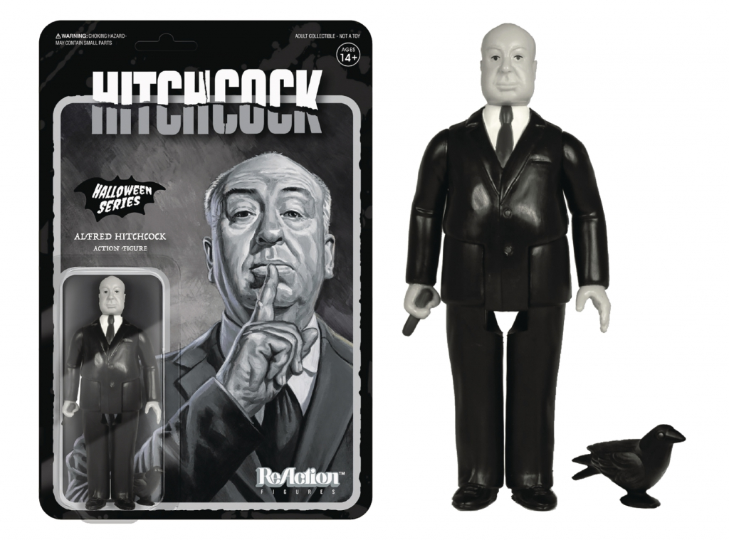 Re:Action Grayscale Alfred Hitchcock Figure