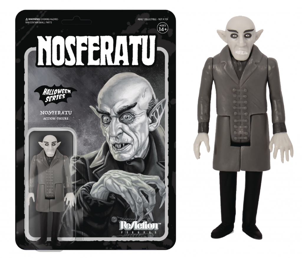 Re:Action Nosferatu Grayscale Action Figure