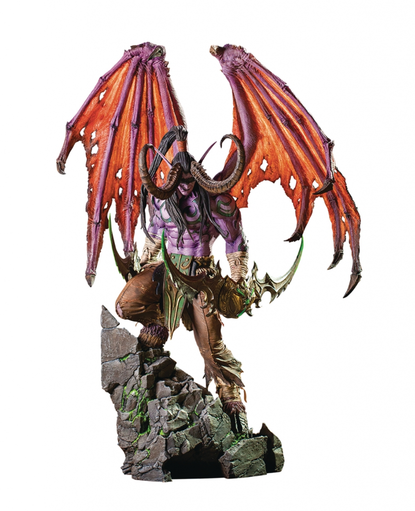 World of Warcraft: Illidan Statue