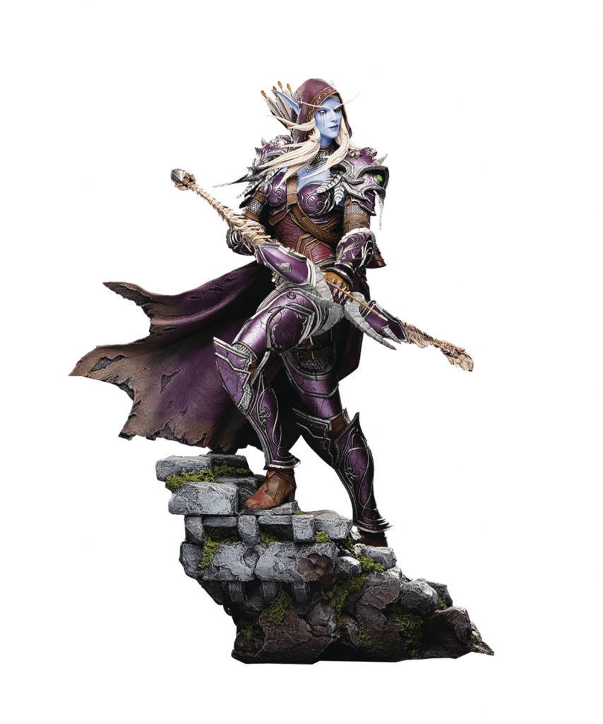 World of Warcraft: Sylvanas Statue