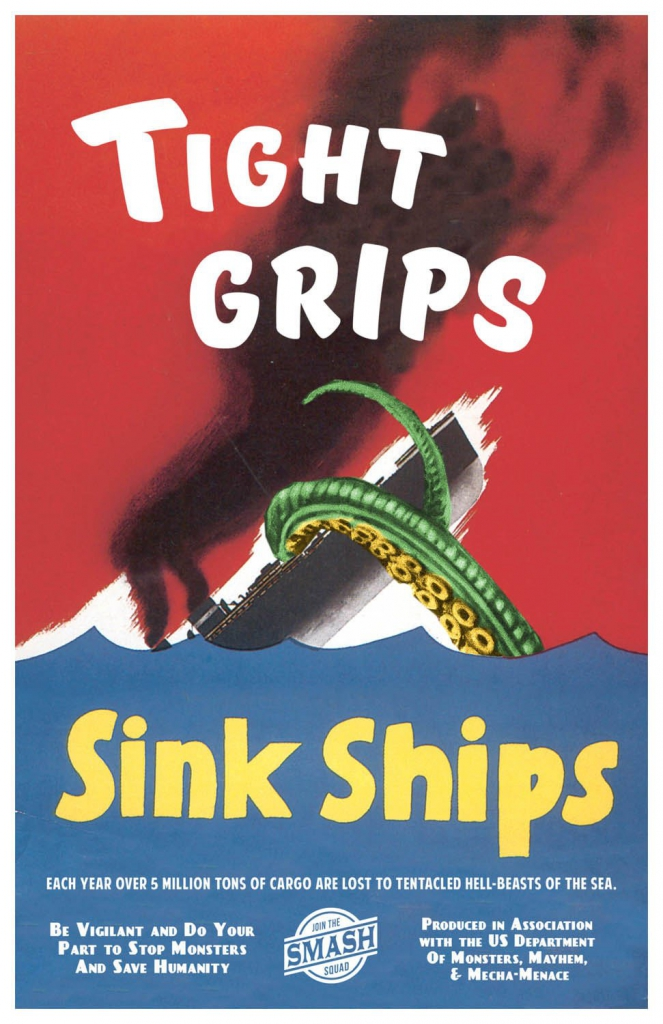 Tight Grips Sink Ships