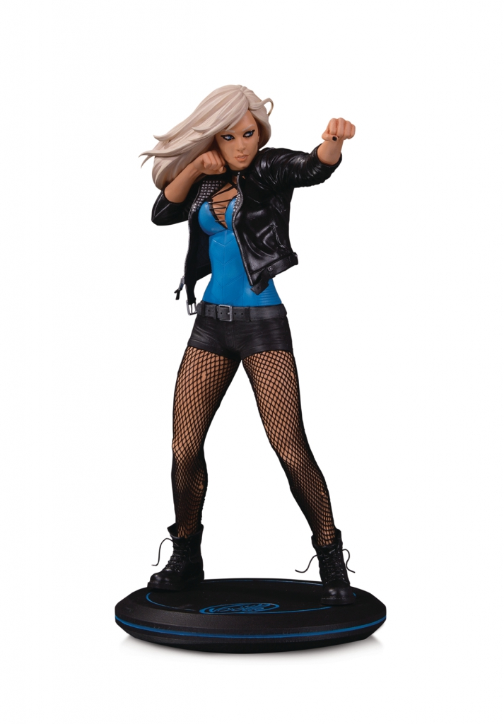 DC Cover Girls Black Canary Statue by Joelle Jones