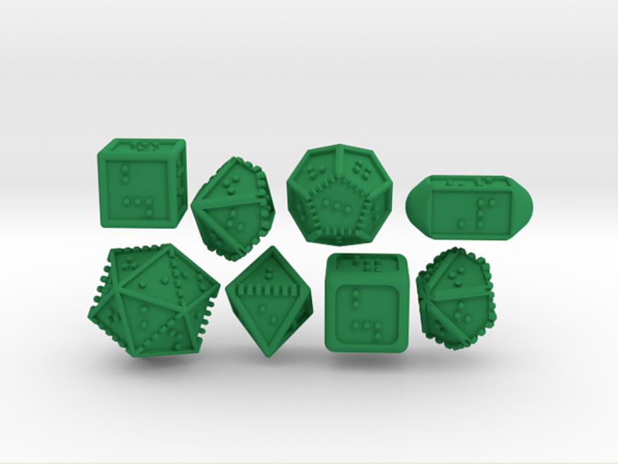 DOTS RPG Polyhedral Set