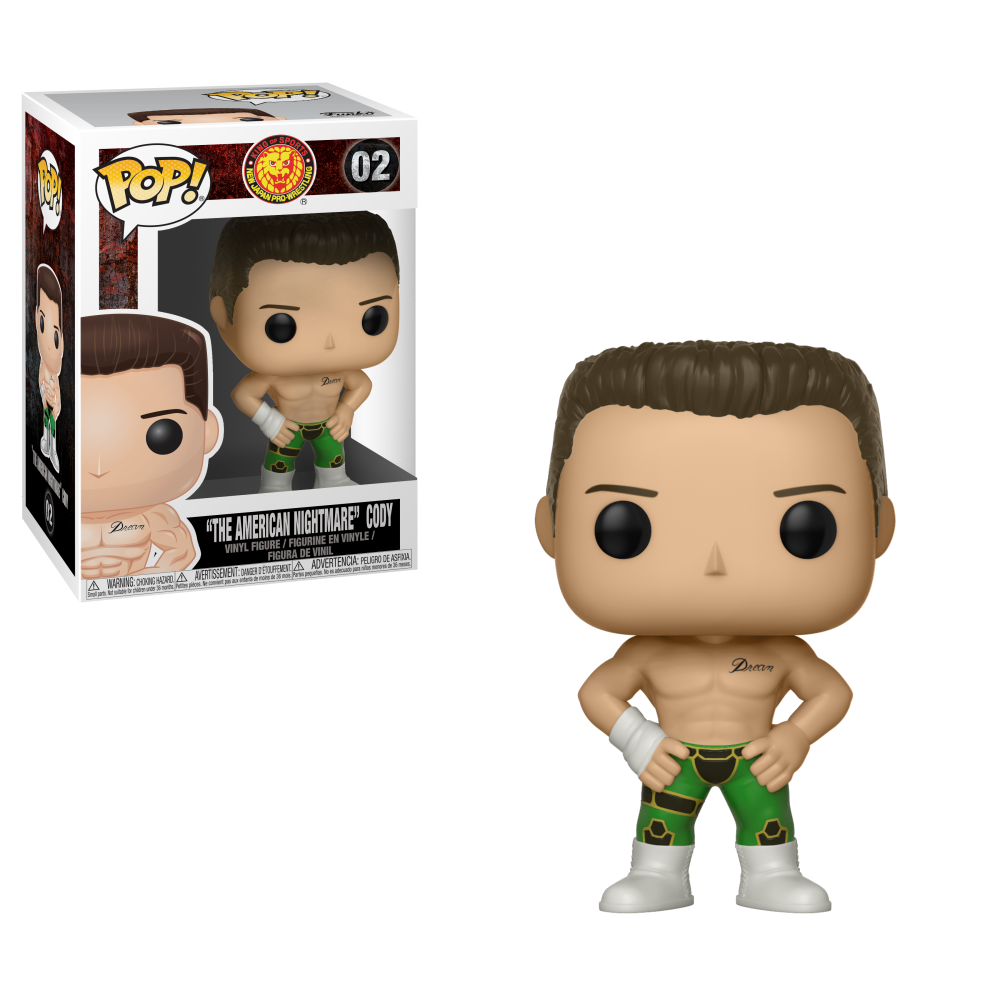 Funko Pop! Bullet Club - Cody