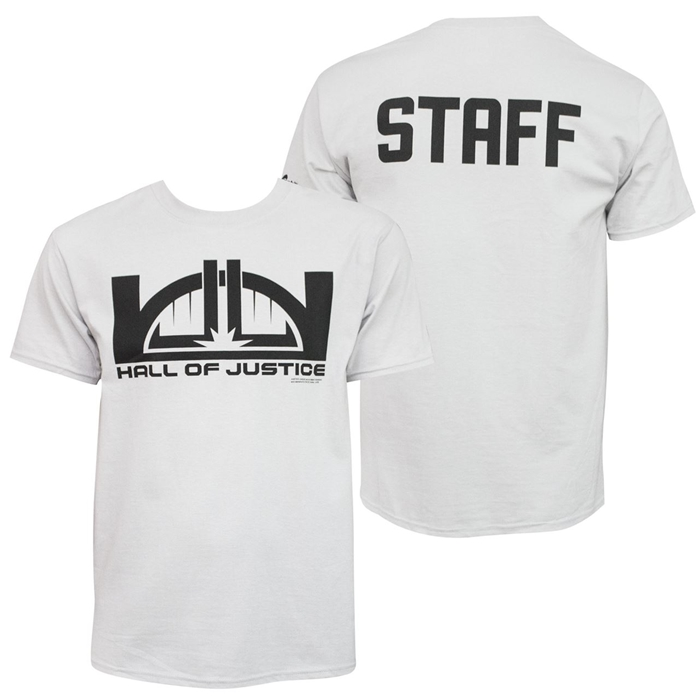 Hall of Justice Staff T-Shirt