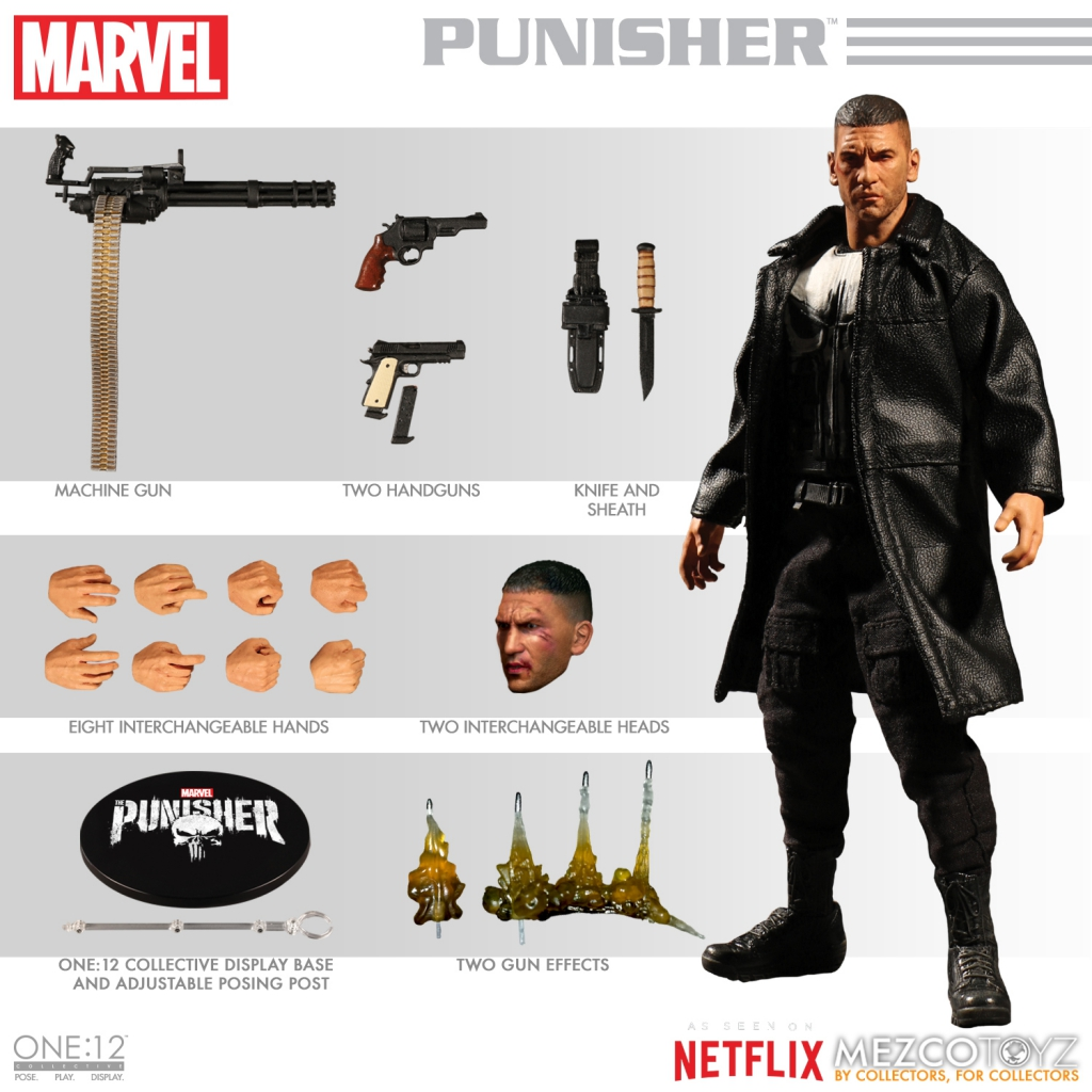 One-12 Collective Netflix Version of The Punisher