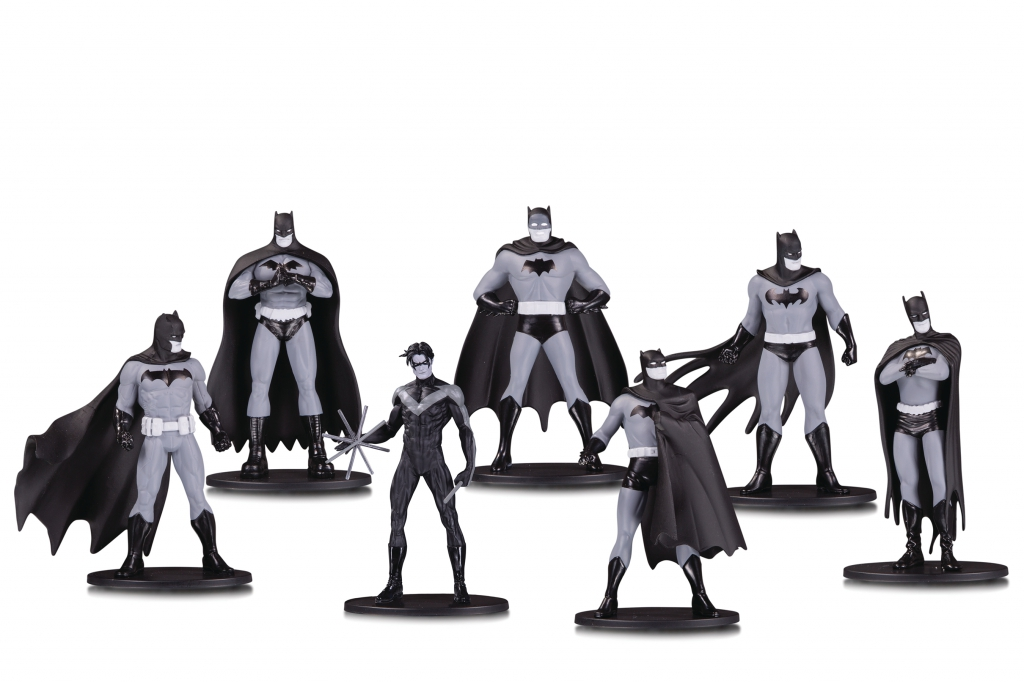 Batman Black & White Mini Figure Box Set