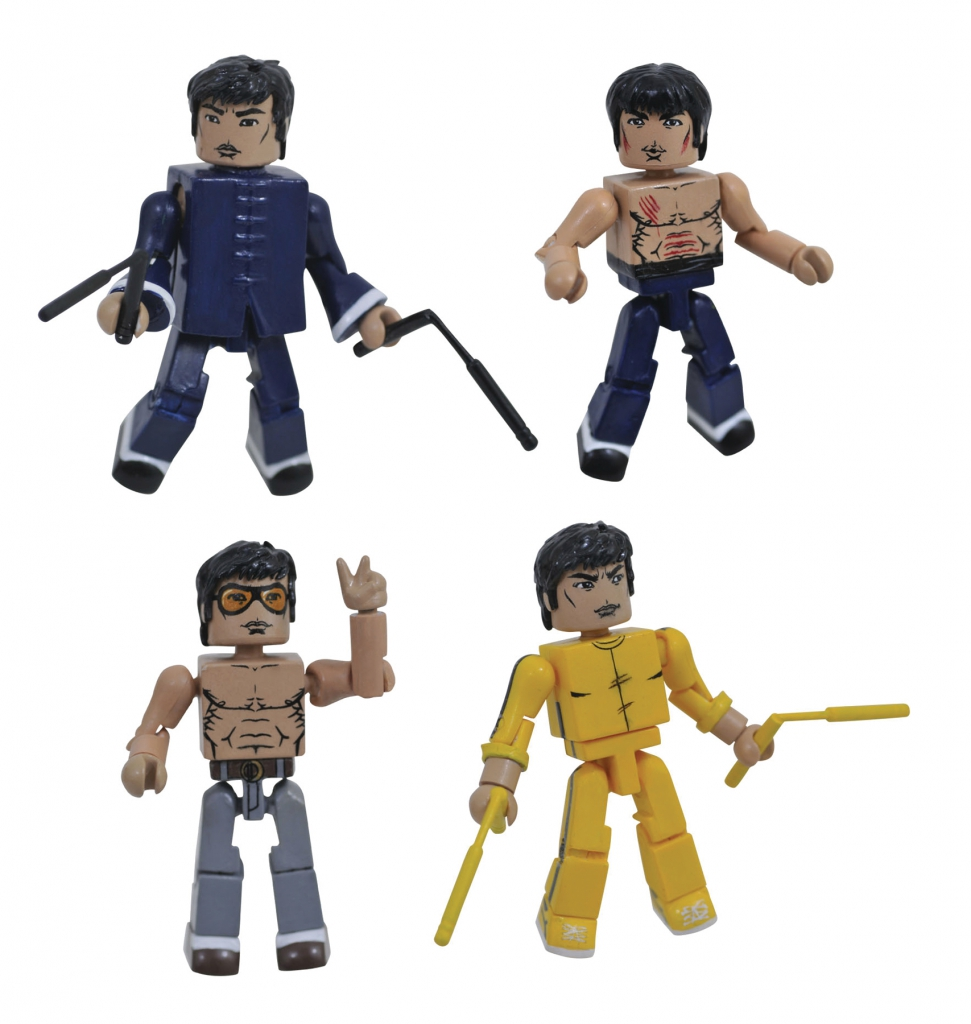 Bruce Lee Minimates, Series 1