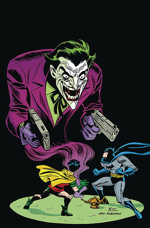Detective Comics 1000 - Bruce Timm 1940s Variant Cover