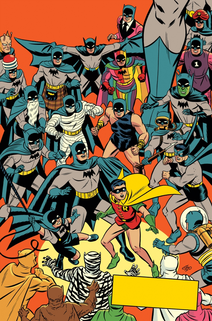 Detective Comics 1000 - Michael Cho 1950s Variant Cover