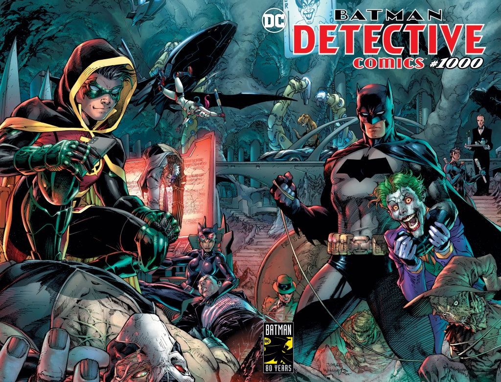 Detective Comics 1000 - Scott Williams and Jim Lee Variant Cover