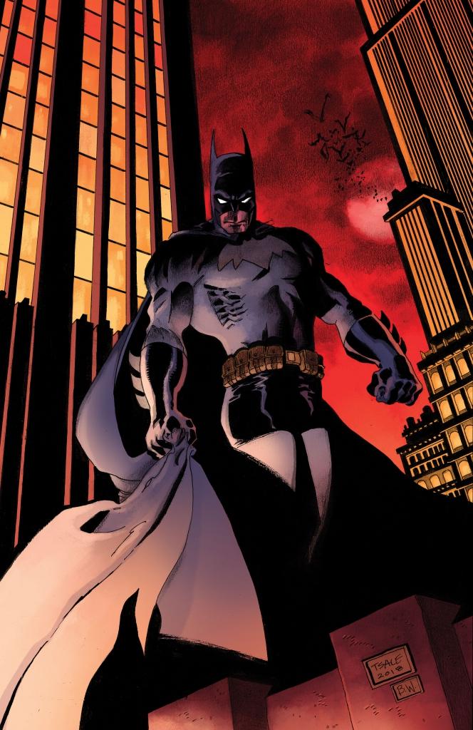 Detective Comics 1000 - Tim Sale 1990s Variant Cover