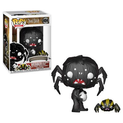 Funko Pop! Don't Starve - Webber and Spider