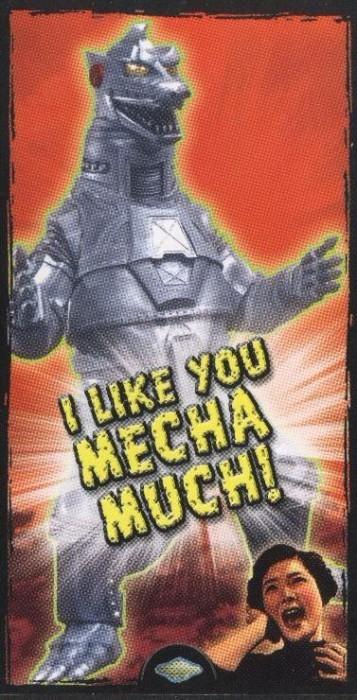"Godzilla Valentine - ""I Like You Mecha Much!"""
