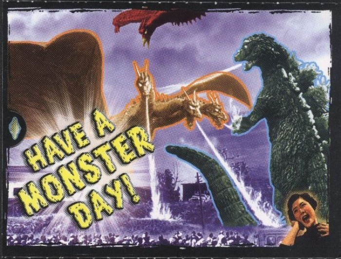"Godzilla Valentine - ""Have A Monster Day!"""