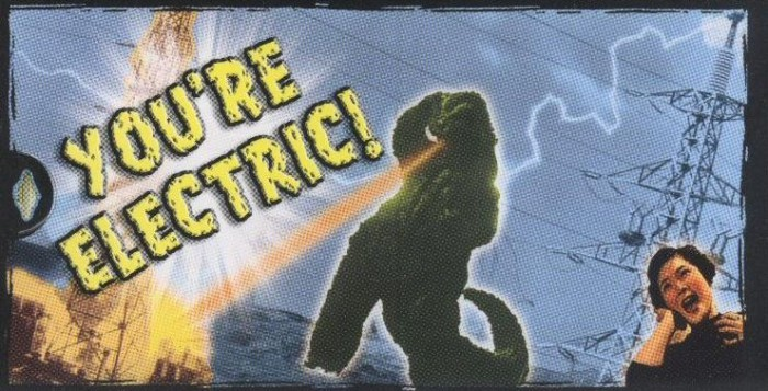 "Godzilla Valentine - ""You're Electric!"""